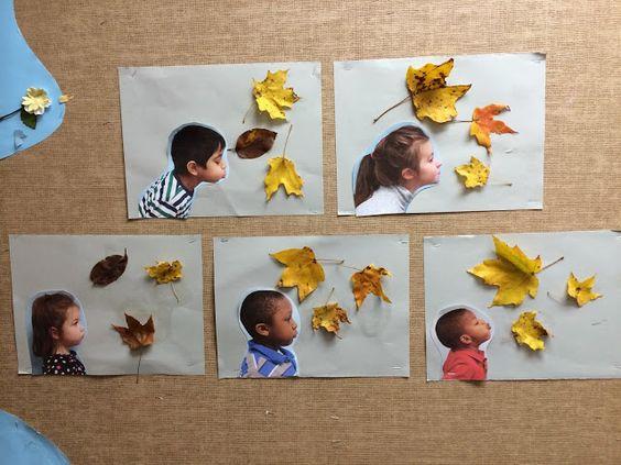 "Idée Pinterest : ""Les feuilles s'envolent"""