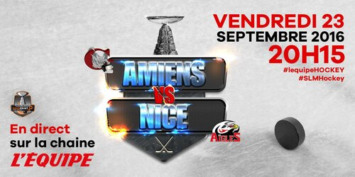 Amiens - Nice on TV
