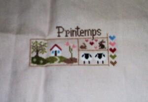 """Sal """"Printemps"""" de Jardin Privé 2."""