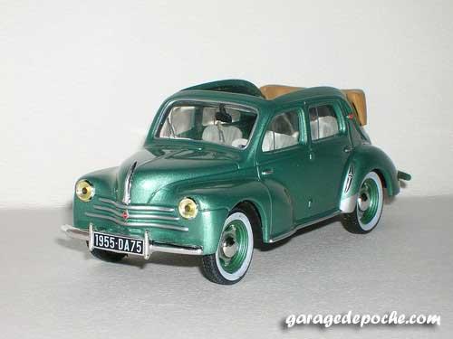 4cv découvrable 1955