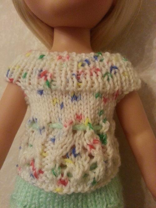 Petit haut tricot pour Paola Reina