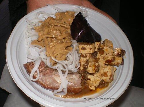 Semaine de la Chine à l'Inalco : buffet gourmand