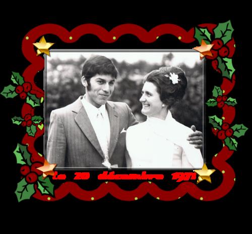 ♥Anniversaire de Mariage♥