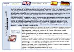 Recommandations pour la maternelle BO 29 mai 2019