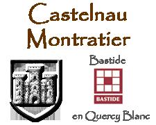 Castelnau Montratier, bastide en Quercy Blanc