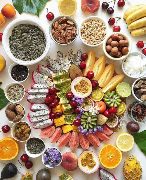 Délice aux fruits.
