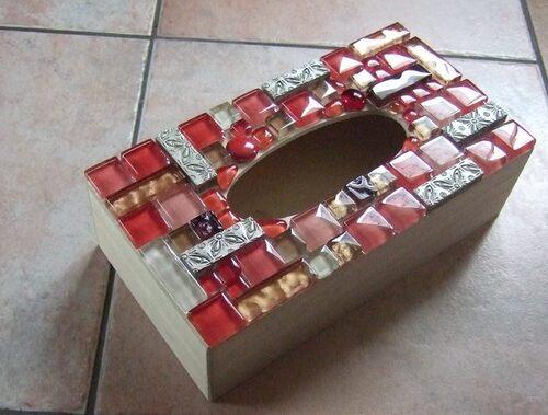 Mes débuts, les boites à mouchoirs