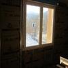 Pose laine de verre de 100 mm sur mur périphérique pignon étage