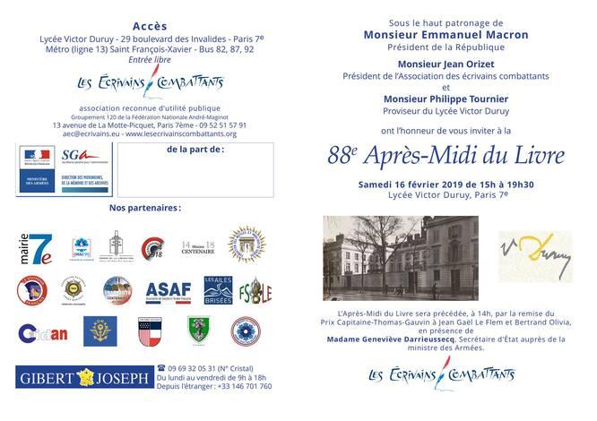 Prochains rdv, un salon à Paris le samedi 16 février