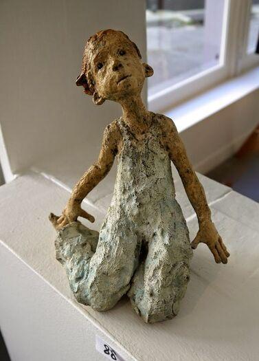 Les carnets de Mathilde: Vive la vie ... avec Jurga , sculpteur ...!