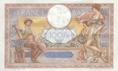 LE BILLET 100 FRANCS MERSON