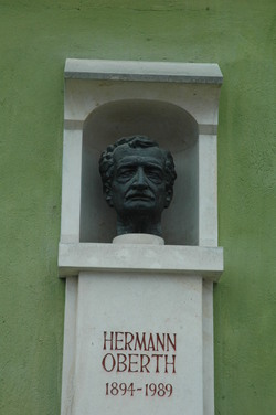 buste de Hermann Oberth