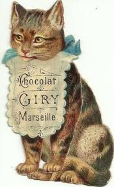 Affiches chats gourmands