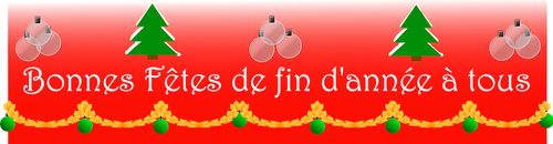 Season Greetings! Bonnes fêtes!