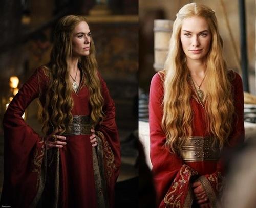 Où trouver la robe rouge de Cersei Lannister?