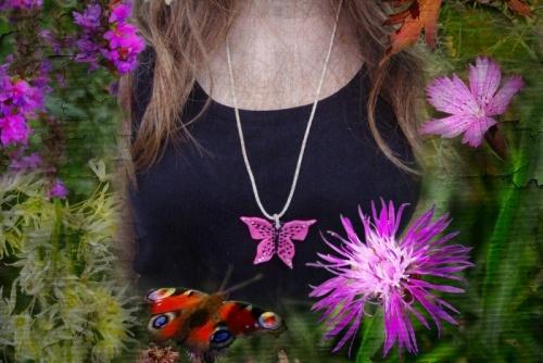 Nouvelles créations de Sylvie Le Brigant dans le parc andré de La Croix-en-Touraine à la fête de l'arbre