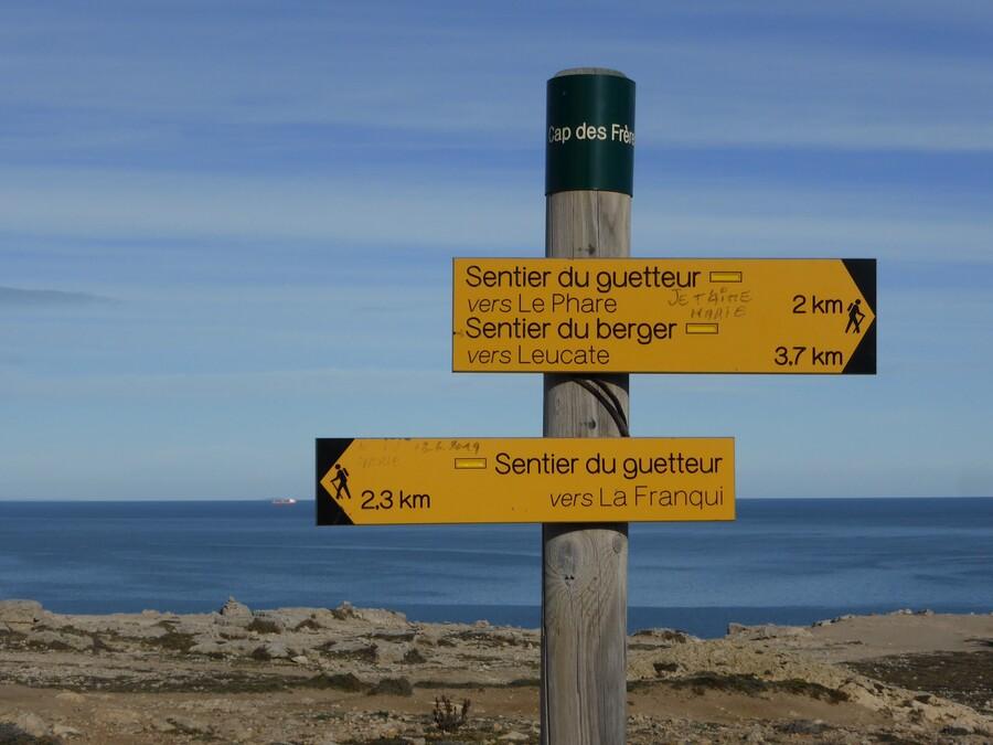 Le sentier du Berger à Leucate  : (2)