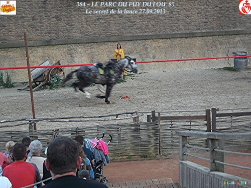 GRAND PARC DU PUY DU FOU 85 2/3 LE SECRET DE LA LANCE 21/02/2014