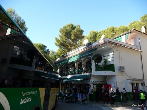 Restaurant à l'entrée Nord du Caminito del Rey