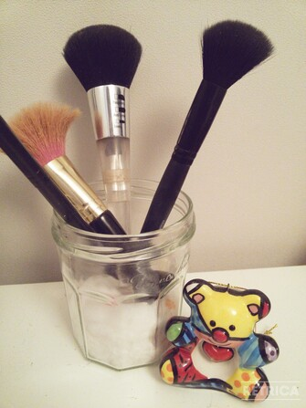 DIY rangement make-up !