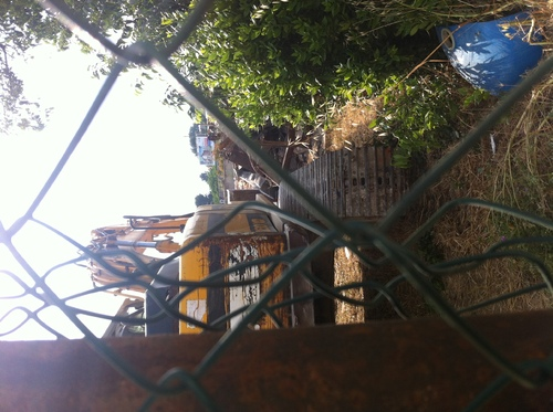 La maison IABON à la CHEVALIERE détruite au tracto