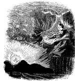 Herr Sonne im Bett, Frau Mond unterwegs