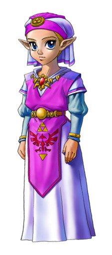 Princess Zelda (Child) - <i>Ocarina of Time 3D</i>