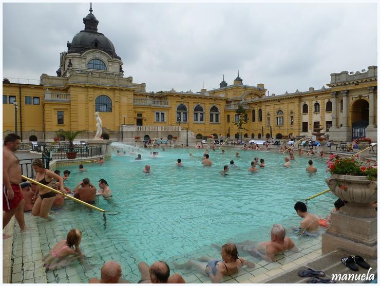 Les bains Széchenyi