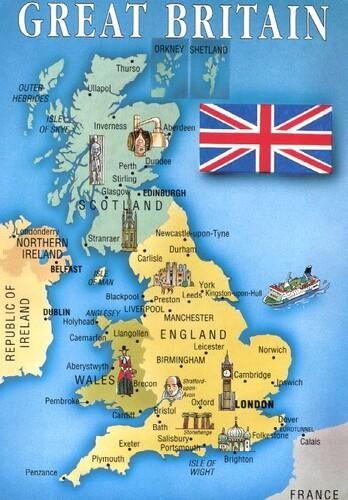 Tortue en Angleterre et Ecosse
