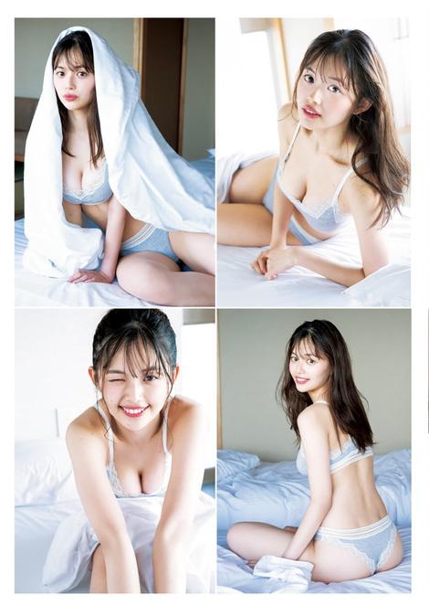 Magazine : ( [Young Jump] - 2020 / N°29 - Sayaka Nitori & Hinami Mori Staring )
