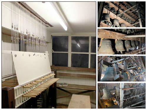 Réouverture du beffroi de Mons - Le carillon
