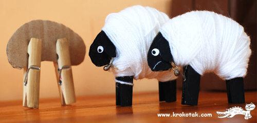 Petit mouton en laine