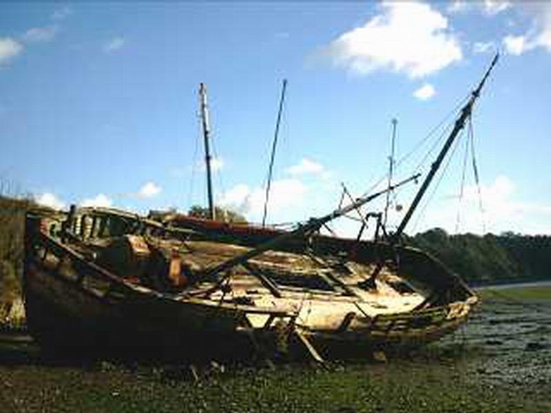 cimetière bateaux - Quelmer