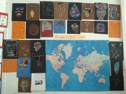 Projet : les 5 continents