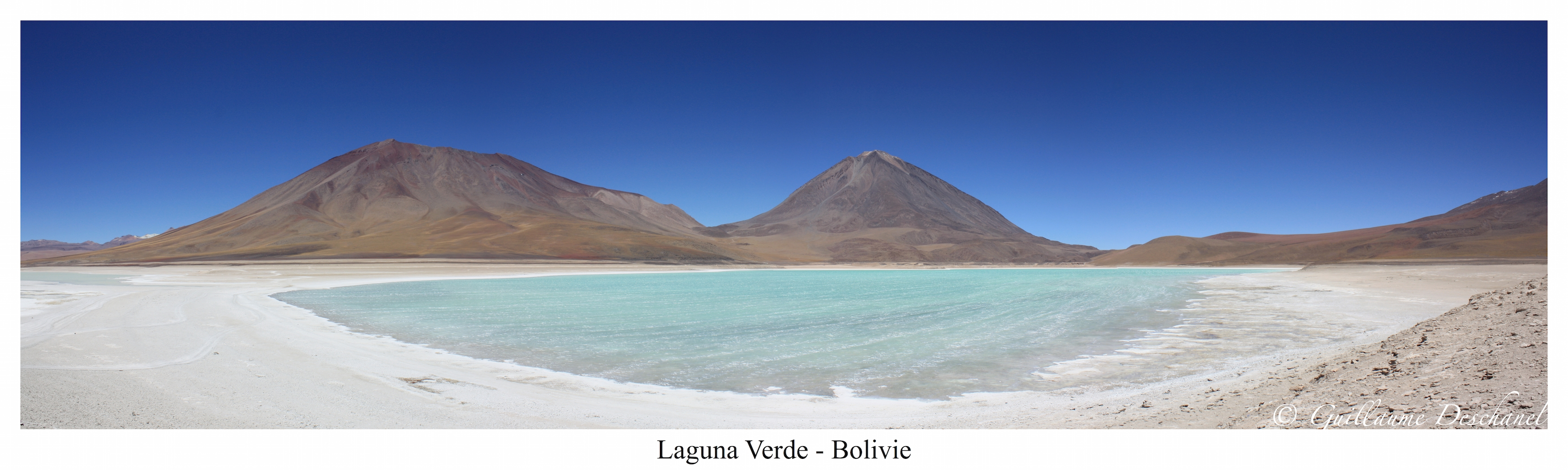 Panoramique 3 - Laguna Verde - Bolivie - copie