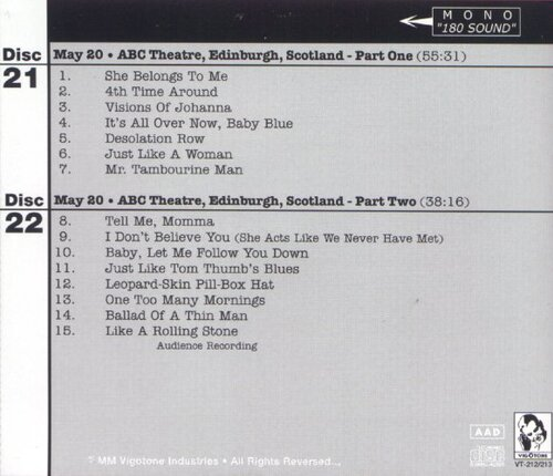 Jewels and Binoculars 6 - Bob Dylan