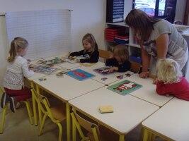 les coins-jeux de la classe