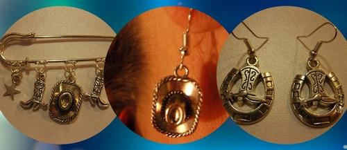 Exposition de mes bijoux country au bal de La Ville-aux-Dames