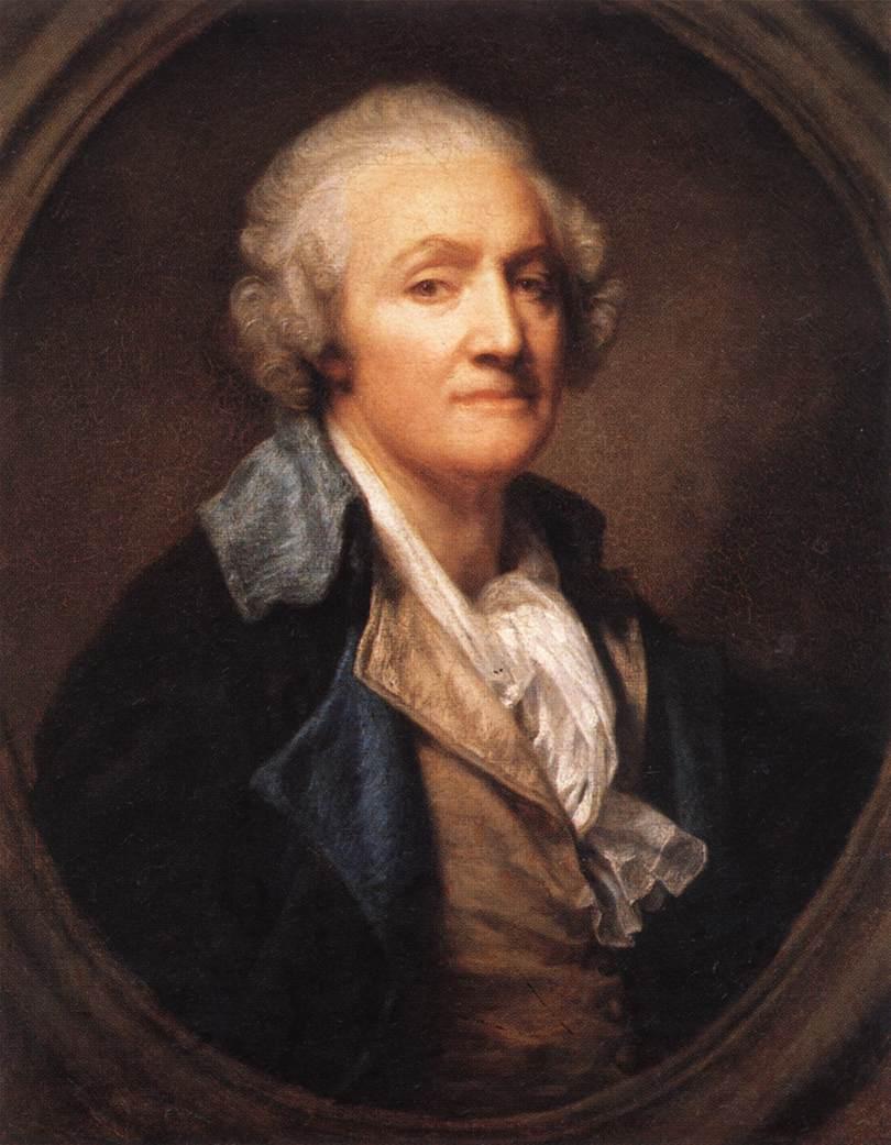 Self-Portrait 1 by Jean Baptiste Greuze