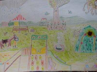Blog de melimelodesptitsblanpain : Méli Mélo des p'tits Blanpain!, Dessine-moi... ton village!