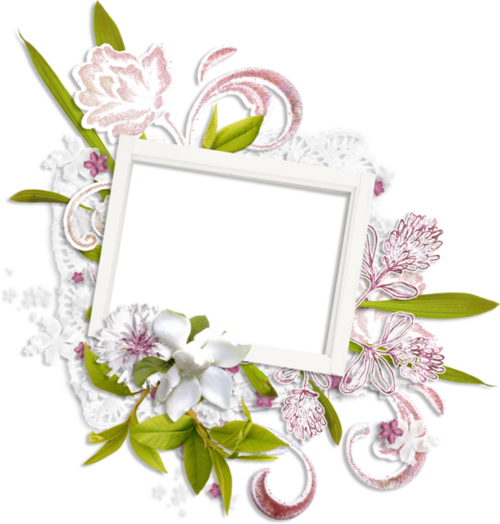 Cadres Fleuris  (4)