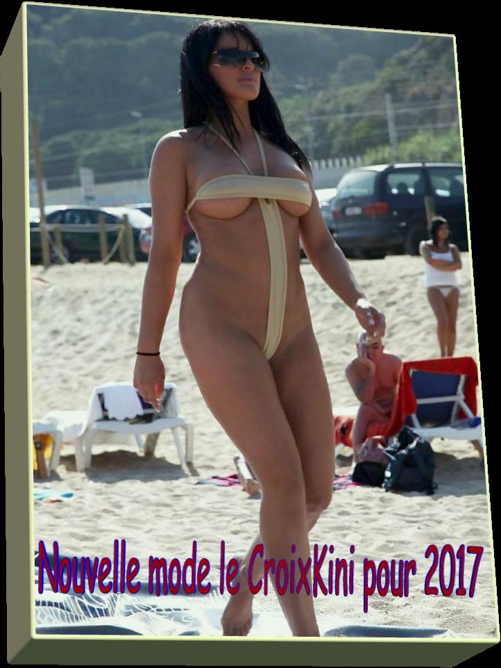 Nouvelle mode le CroixKini pour 2017