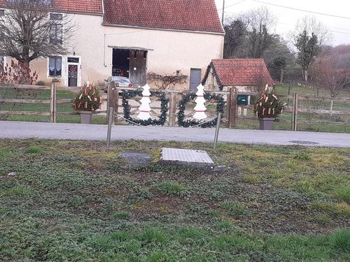 Décoration du village.