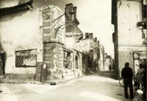 Mouleydier incendié, 21 juin 1944.