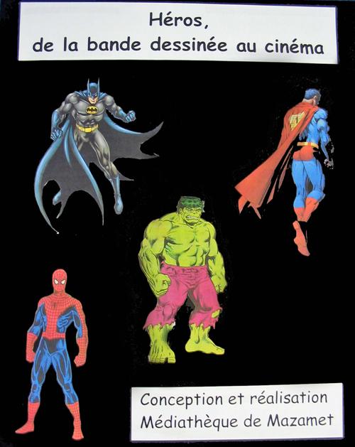 Expositions en prêt Héros, de la BD au cinéma