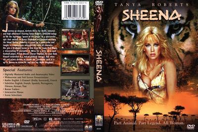 Sheena / Sheena, Queen of the Jungle. 1984. HD.