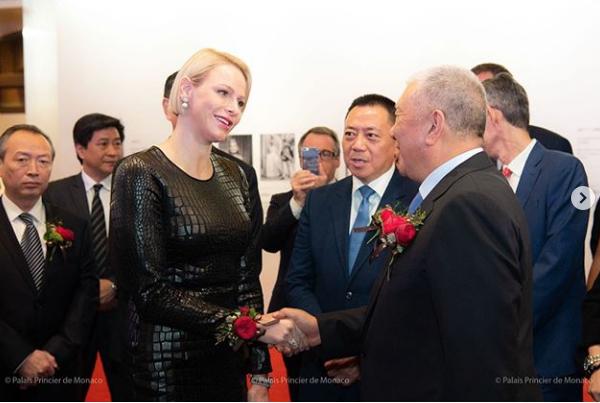 Charlène à Macau en Chine