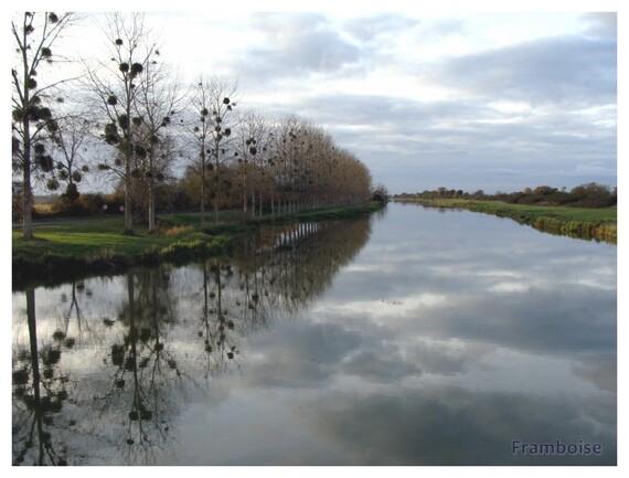Canal de la Martinière à la Martinière