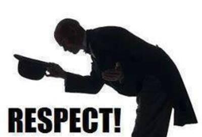 Respect à notre armée