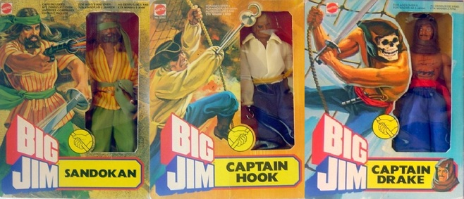 Big Jim, pirates